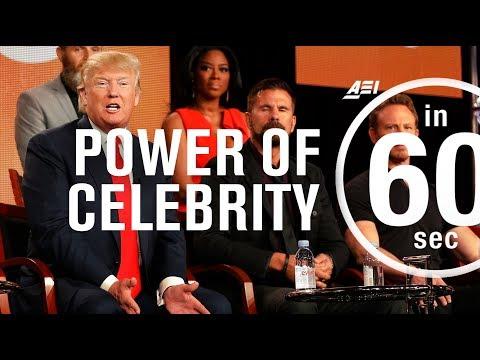 How celebrity trumps the political establishment | IN 60 SECONDS