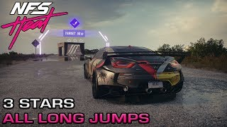 Need for Speed Heat - All 40 Long Jumps with 3 Stars Guide