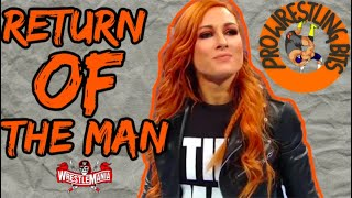 Becky Lynch Returning and 5 Things That Must Happen at WrestleMania 37 Night 1