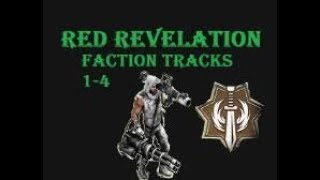 War Commander - Operation:Red Revelation Faction Track Survivors Base (1-4)