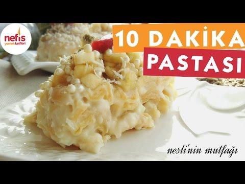10 Dakika Pastası - Pasta Tarifi - Nefis Yemek Tarifleri