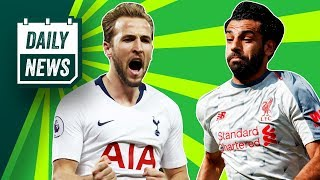Harry Kane to Barcelona for 200m, Liverpool top EPL + Arsenal break a record ►Onefootball Daily News