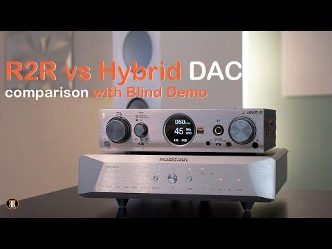 Pegasus R2R Vs iDSD Pro Hybrid DAC Comparison and Blind Test