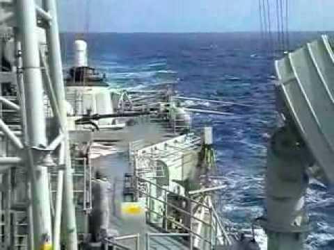 76 mm Gun Firing - HMAS Canberra