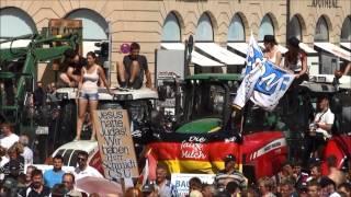 BDM   Grosse Kundgebung auf dem Odeonsplatz Munich Teil VII