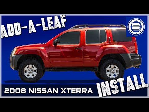 2008 Nissan Xterra | Rear Add-A-Leaf Installation
