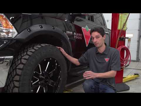 Canadian Truck: Ram 1500 Wheel & Tire Upgrade - Goodyear Duratrac Tires