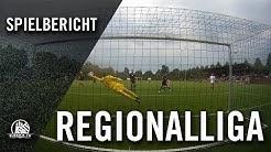 Hamburger SV II – BSV SW Rehden (7. Spieltag, Regionalliga Nord)