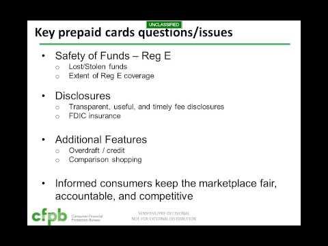 Webinar: Breaking Down Prepaid Cards