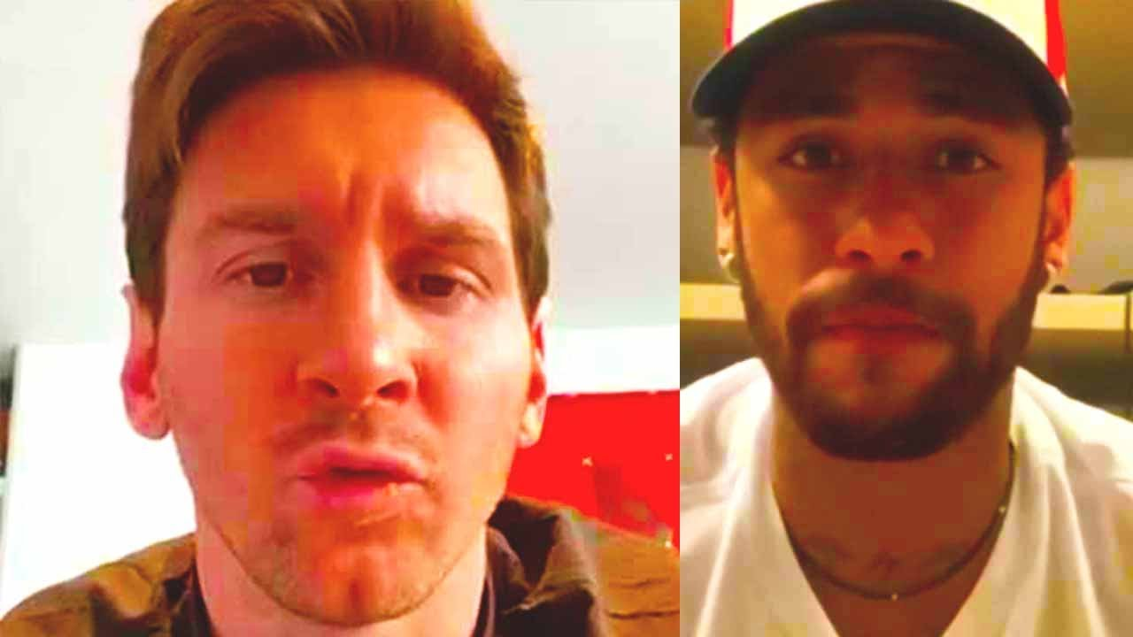 WHAT'S HAPPENING? MESSI and NEYMAR REUNITE in BARCELONA!? LIONEL calls NEYMAR every day to convince?
