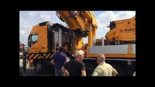 Gaffert new Volvo 150 ton crane in action