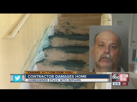 Contractor disaster: A paint job gone horribly wrong