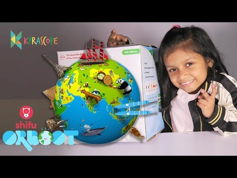 Play Shifu Orboot Travel the World with the The Smart AR Globe Augmented Reality Globe Unboxing