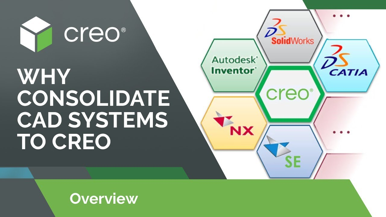 Why Consolidate CAD Systems to Creo
