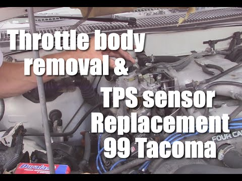 throttle body removal and throttle position sensor replacement throttle body removal and throttle position sensor replacement 1999 toyota tacoma