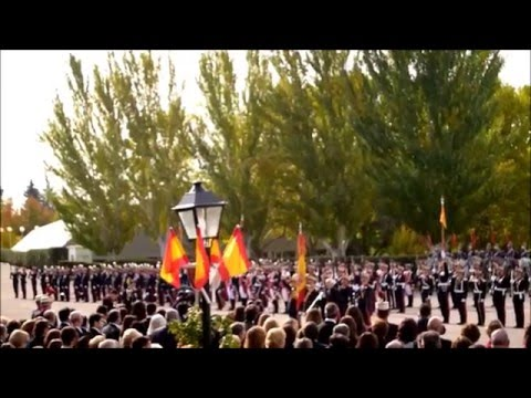 October 23, 2015 Video Jura flag House of HM the King Royal Guard