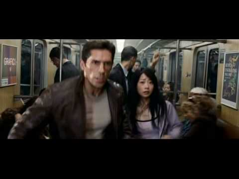 """Ninja"" subway fight scene"