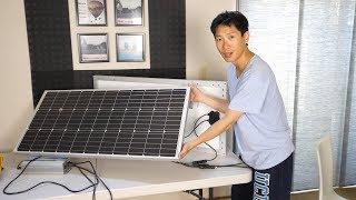 My Grid Tie Batteryless Solar Panel Setup