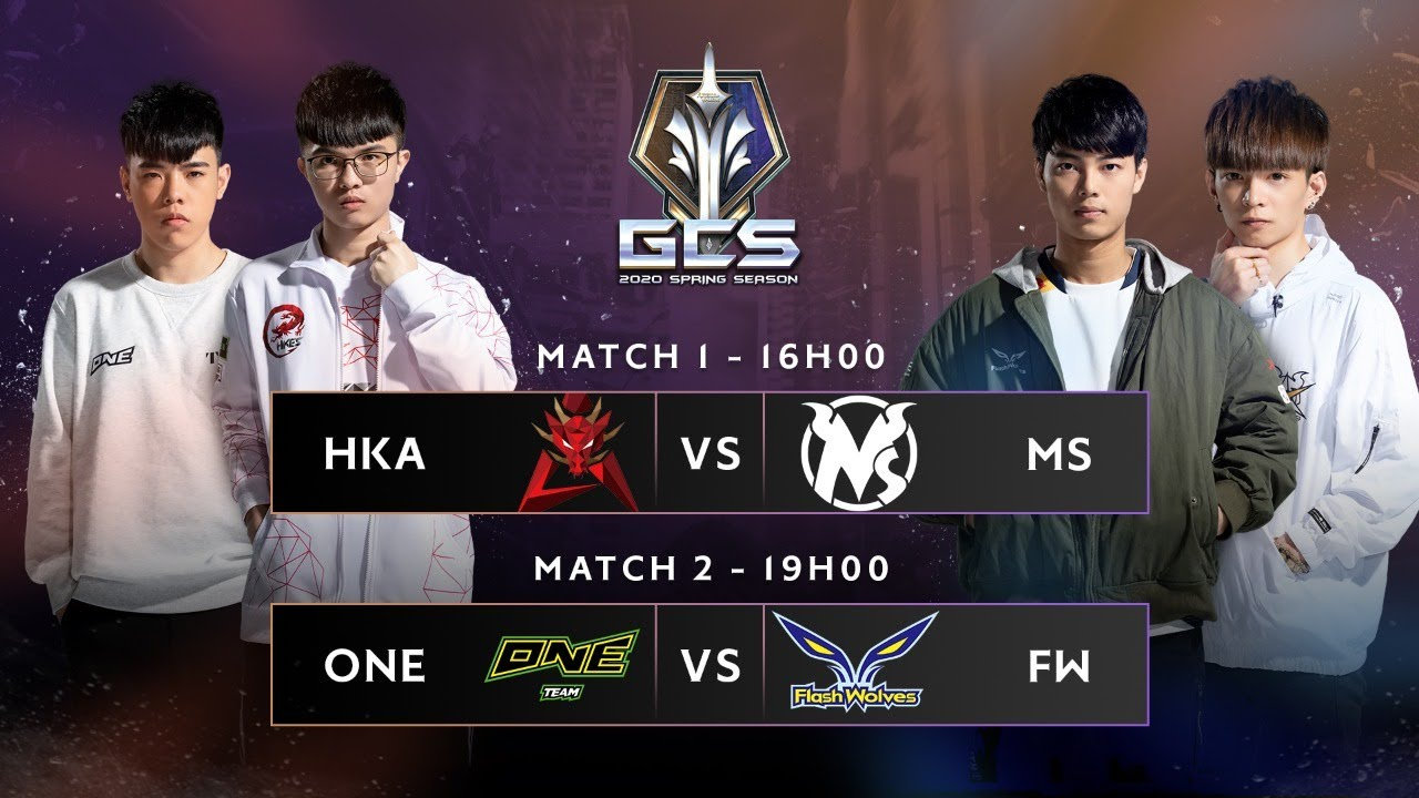 HKA vs MS – ONE vs FW [Vòng 1 – Ngày 1] | GCS Mùa Xuân 2020