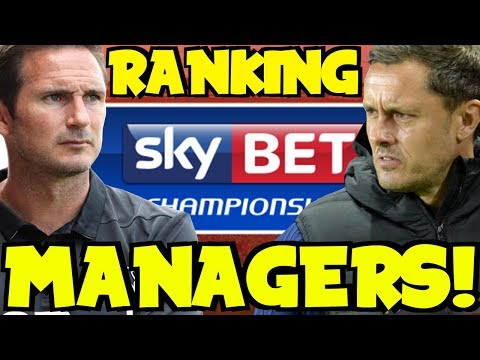 RANKING EACH CHAMPIONSHIP MANAGER SO FAR! PAUL HURST SACKED BY IPSWICH! WHO WILL BE NEXT?!