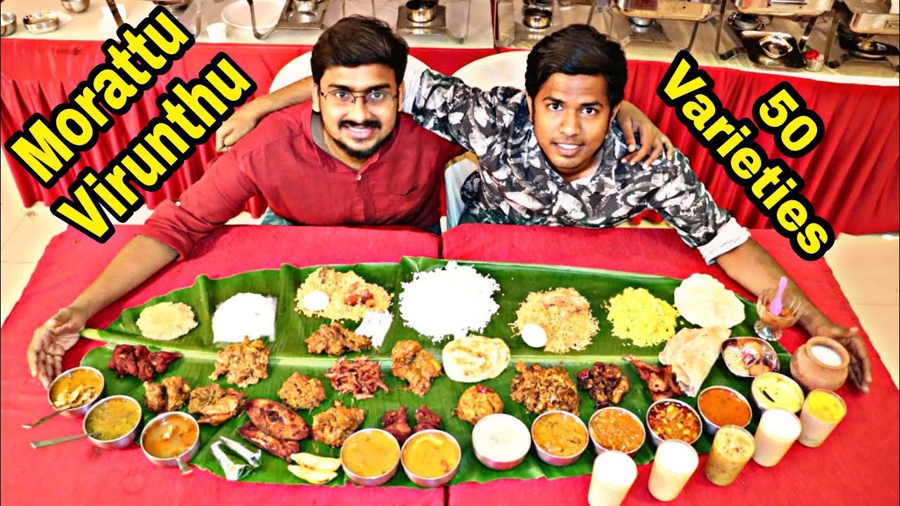 How Food Vloggers Shoot | Collab With Sothu Mootai | 50 Varieties | Tamil Vlog | 2K19