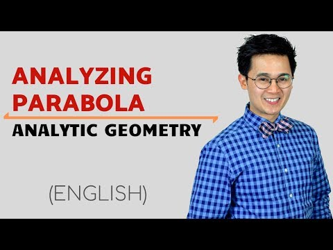 Analytic Geometry:  Conic Section on Parabola