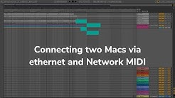 Connecting two Macs via ethernet and Network MIDI