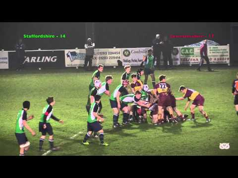Leicestershire 39 vs Staffordshire 22