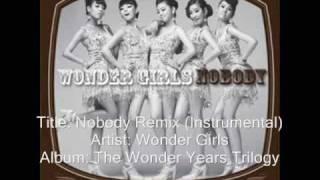 Wonder Girls-Nobody Rainstone Remix (Instrumental)