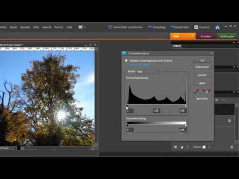 Photoshop Elements - Sonnenstrahlen Durch Ein Bild Fluten Lassen