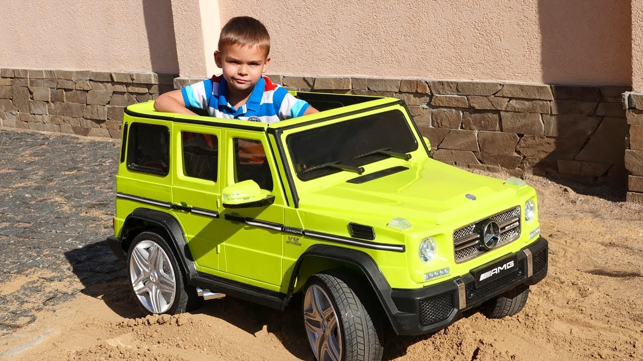 New Jeep Mercedes AMG 63 - unboxing power wheels