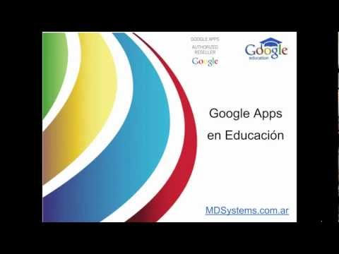 Presentación Google Apps en Educación