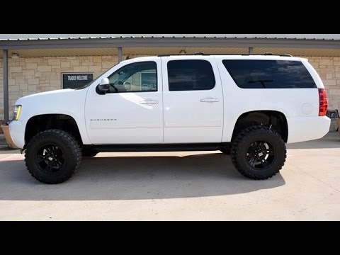 2011 Chevrolet Suburban LS 1500 4WD Lifted SUV - YouTube