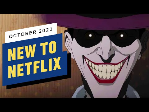 New To Netflix For October 2020