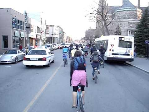 Masse Critique Montréal 2009