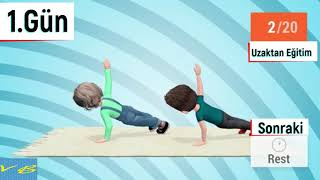 EBA I Uzaktan Beden Eğitimi Dersi I 1. Gün | Çocuklarla Egzersiz | Çocuklarla Evde Spor I EKİM 2020