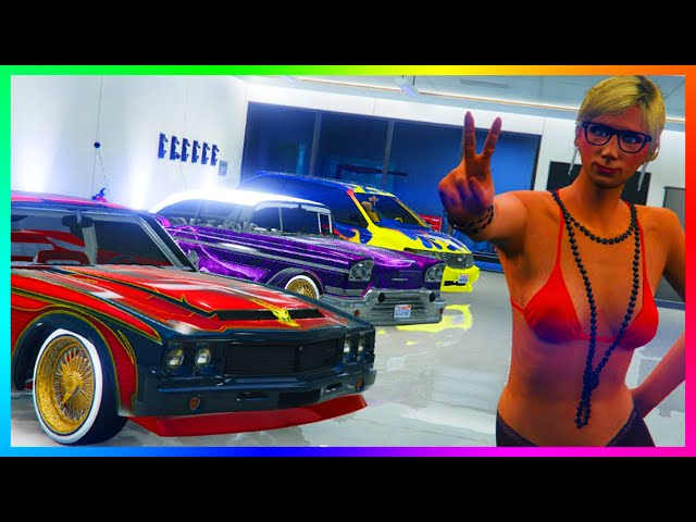 GTA 5 Lowrider Sabre Minivan Tornado Revealed Gameplay Video Show Custom Options In Next DLC Update