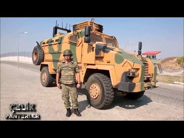 TSKnın Zırhı, KİRPİ  ( Zırhlı Araçlar - 1,  BMC , MRAP  )