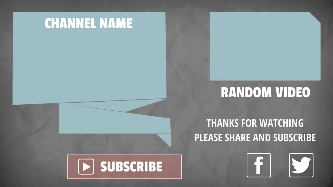 Explaindio Video Creator Pro slide pack - month 9 - youtube outro ...