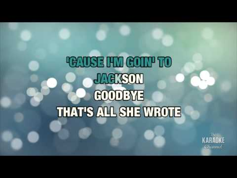 Jackson in the style of Joaquin Phoenix & Reese Witherspoon | Karaoke with Lyrics