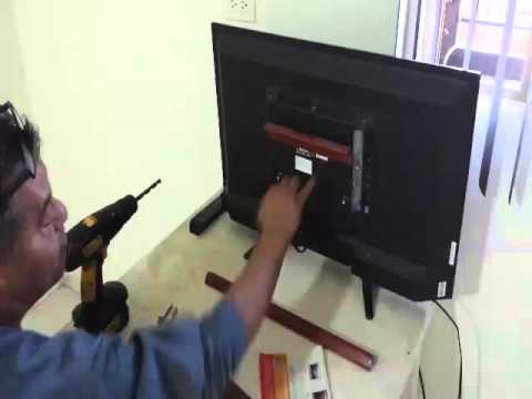 Como hacer soporte para tv facil y economico youtube - Soportes tv pared ...