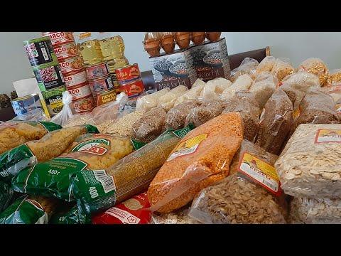 Купили продукты на 2-3 месяца! Большая закупка! Продукты на 15 000 рублей!