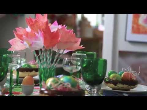 How To Easter Tulips Using Coffee Filters Youtube