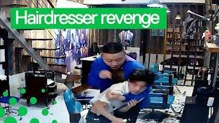 Customer Gets Revenge on Hairdresser after Bad Job