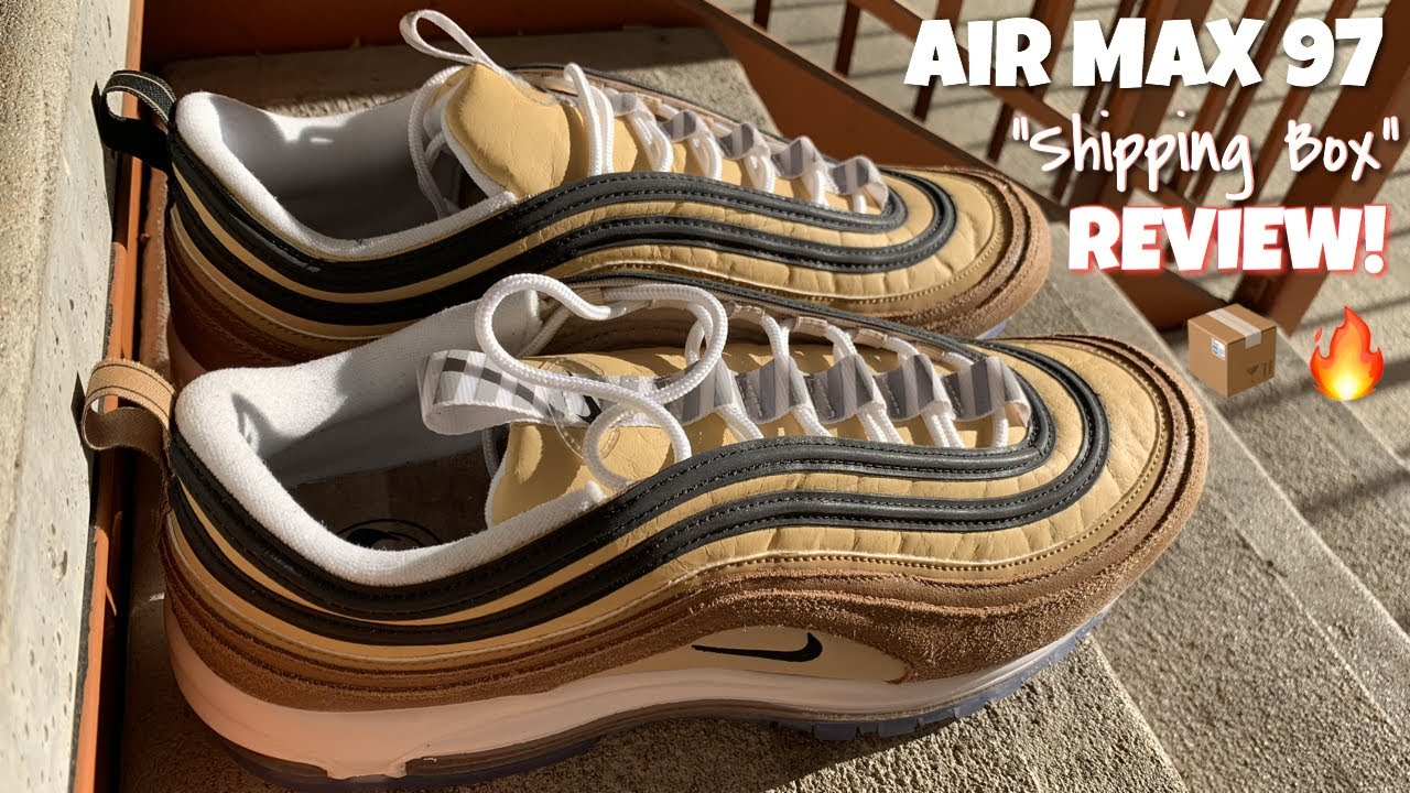 3c5795233a6b1 Air Max 97 Barcode Review - YouTube
