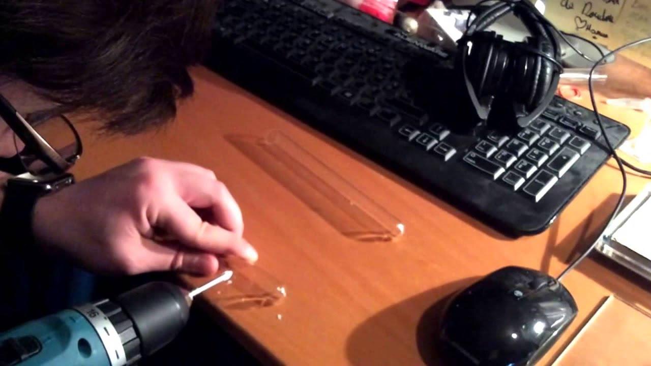 tuto fourmis 2 ment percer un tube en verre youtube