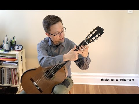 Free PDF Method Lesson: Sor Study No. 1 Op. 60 & Siciliano by Carcassi for beginner guitar