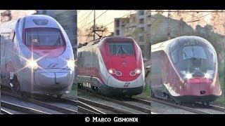 Train Spotting - Frecciarossa, Frecciargento, Italo @ Roma Settebagni