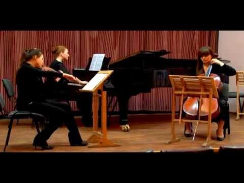 Bedrich Smetana Piano Trio in G minor