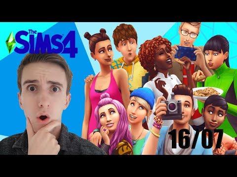 NOUVEAUX VÊTEMENTS, OBJETS ET CAS ! Les Sims 4 : Maj du 16/07/19